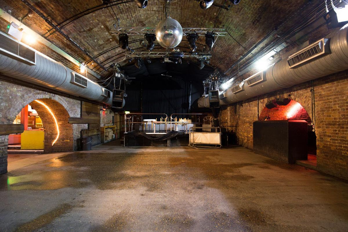 位於United KingdomLondonShoreditch的Pop-Up Event Venue in Shoreditch