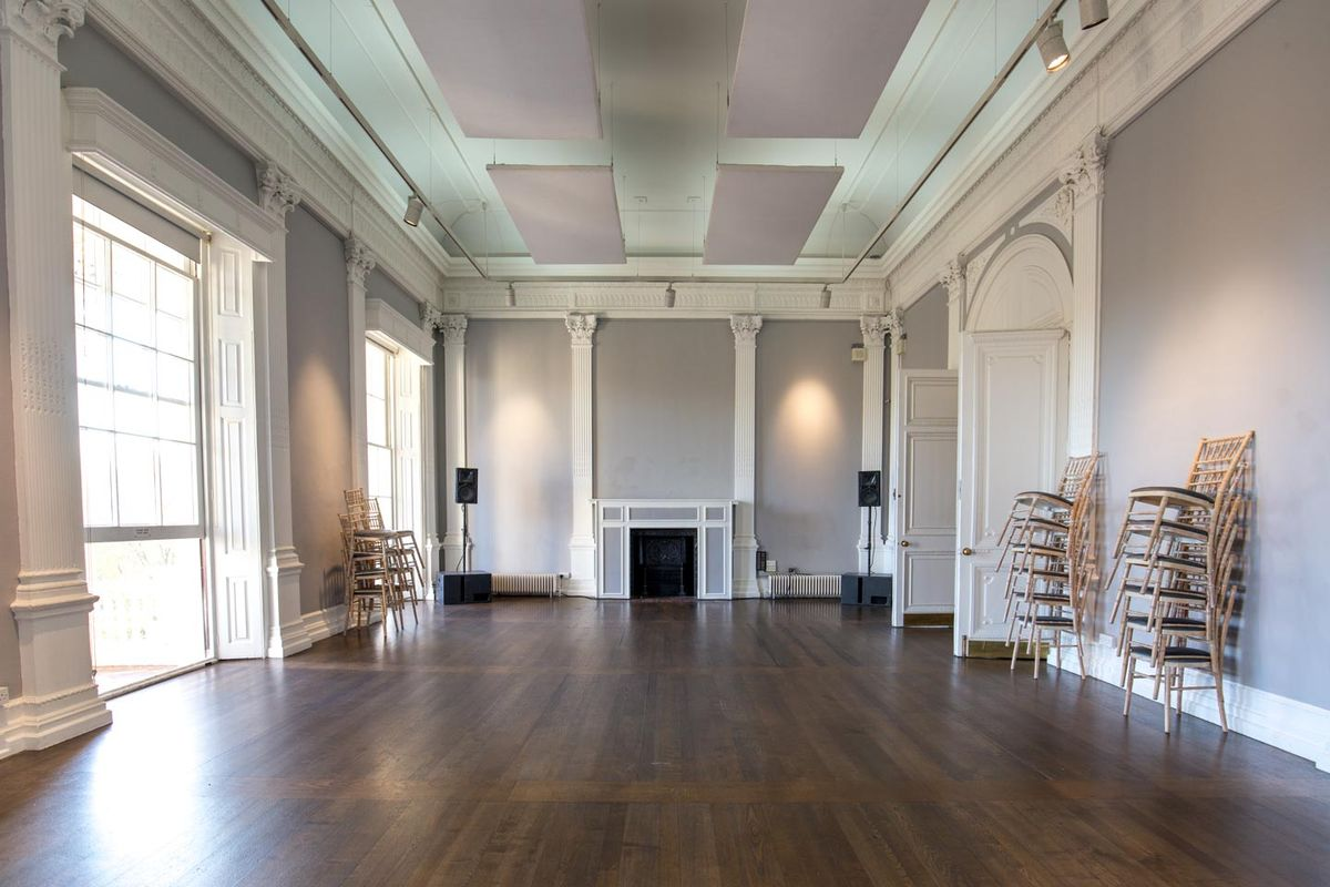 Storefront listing Event Space in Central London in Mayfair, London, United Kingdom.