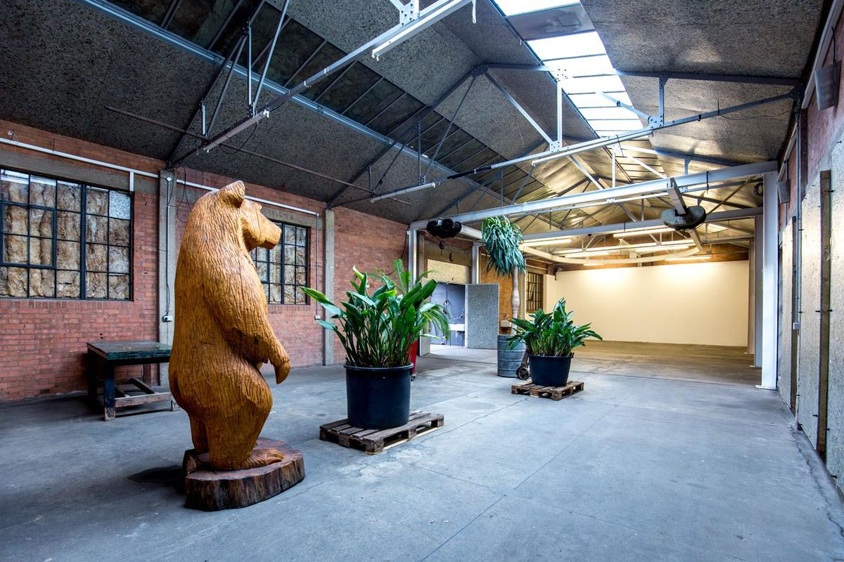 位於United KingdomLondonHackney的Industrial Event Space in Hackney