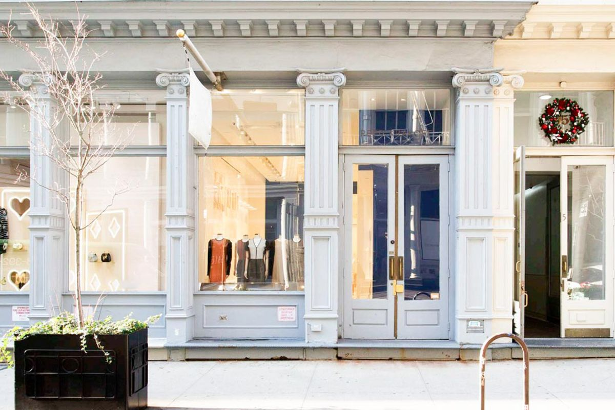 Storefront listing Stunning Showroom in SoHo, New York, United States.