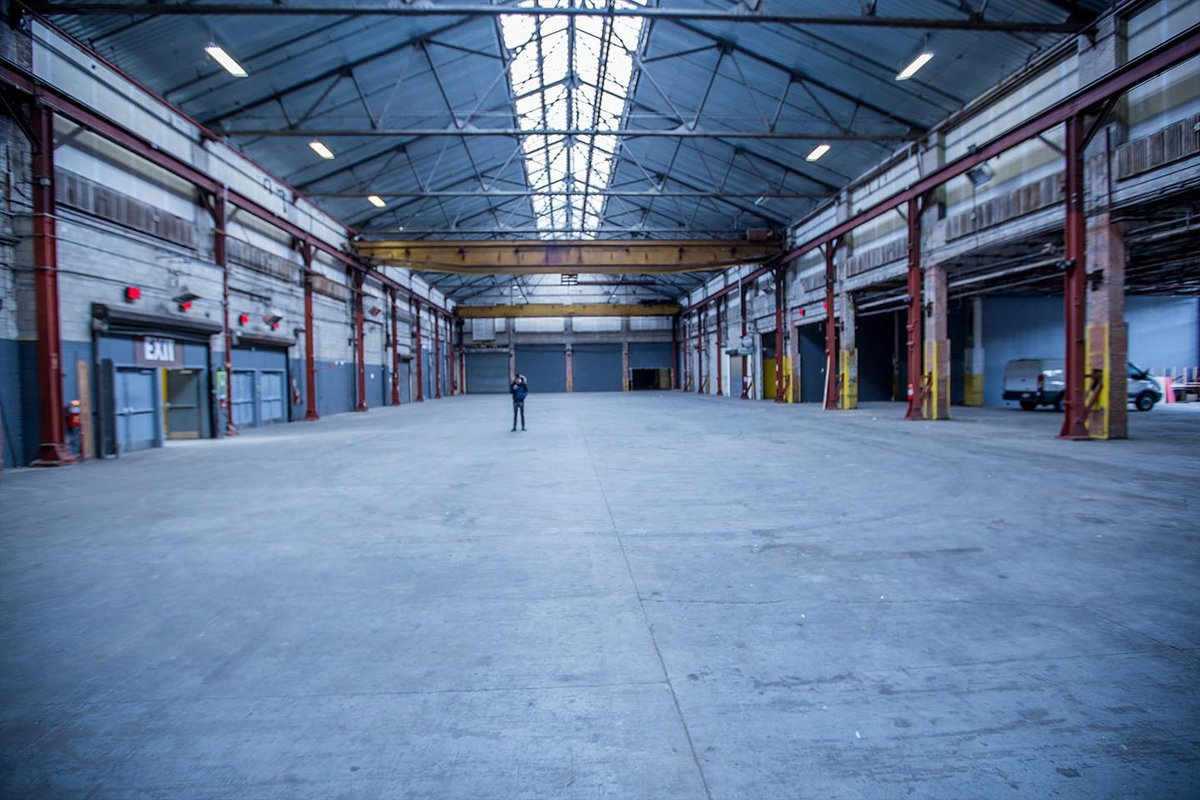 Storefront listing Massive Warehouse in Brooklyn in Sunset Park, Brooklyn, United States.