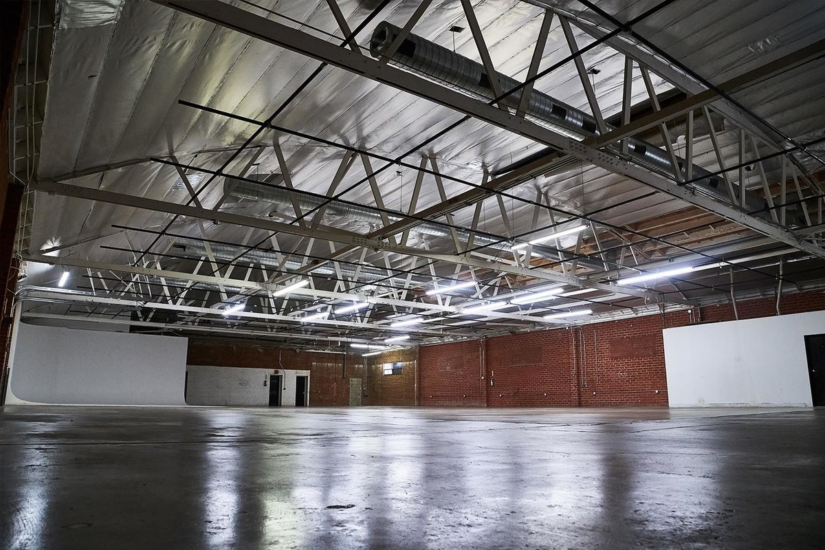 Storefront listing Huge Red Brick Warehouse Location in LA in South Los Angeles, Los Angeles, United States.