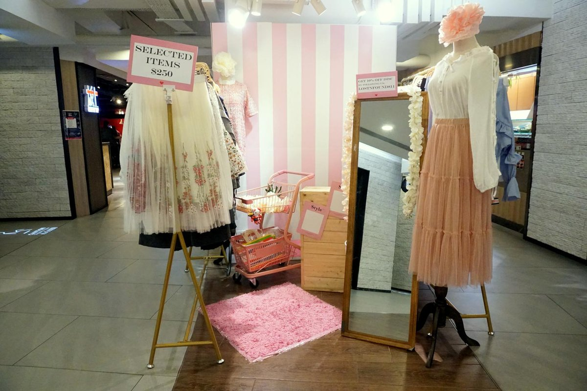Storefront listing Pop-Up Mall Booth in Lai Chi Kok (X9, 3/F) in Lai Chi Kok, Hong Kong, Hong Kong.