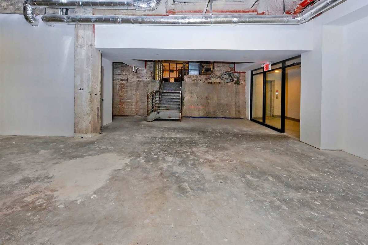 Storefront listing Massive Unique Raw Space in DUMBO in Vinegar Hill, Brooklyn, United States.