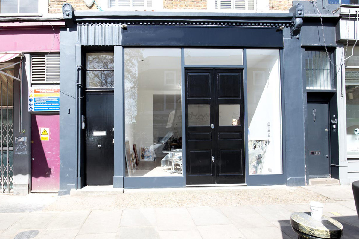 Storefront listing Pop-Up Shop in Prime Notting Hill in Notting Hill, London, United Kingdom.