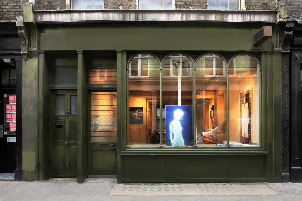 Storefront listing Vintage Pop-Up Art Space in Soho in Soho, London, United Kingdom.
