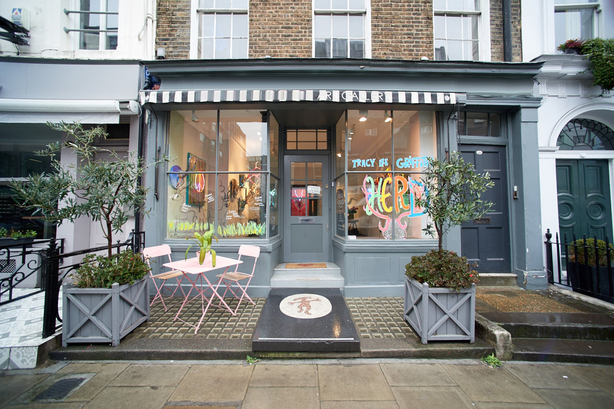 Espace Storefront Quaint Fitzrovia Gallery dans Fitzrovia, London, United Kingdom.