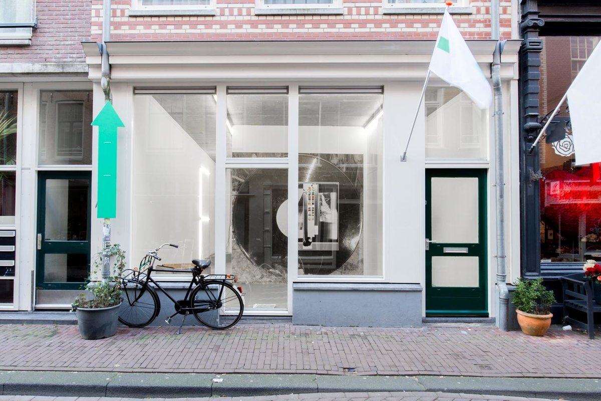 Storefront listing Art Space in Beautiful Jordaan, Amsterdam, Netherlands.