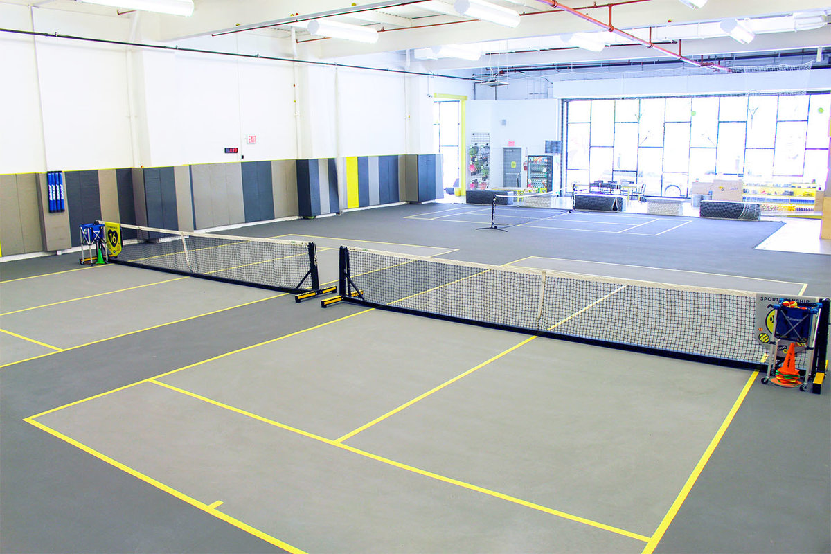 Storefront listing Unique Tennis Court Space in Gowanus, Brooklyn, United States.