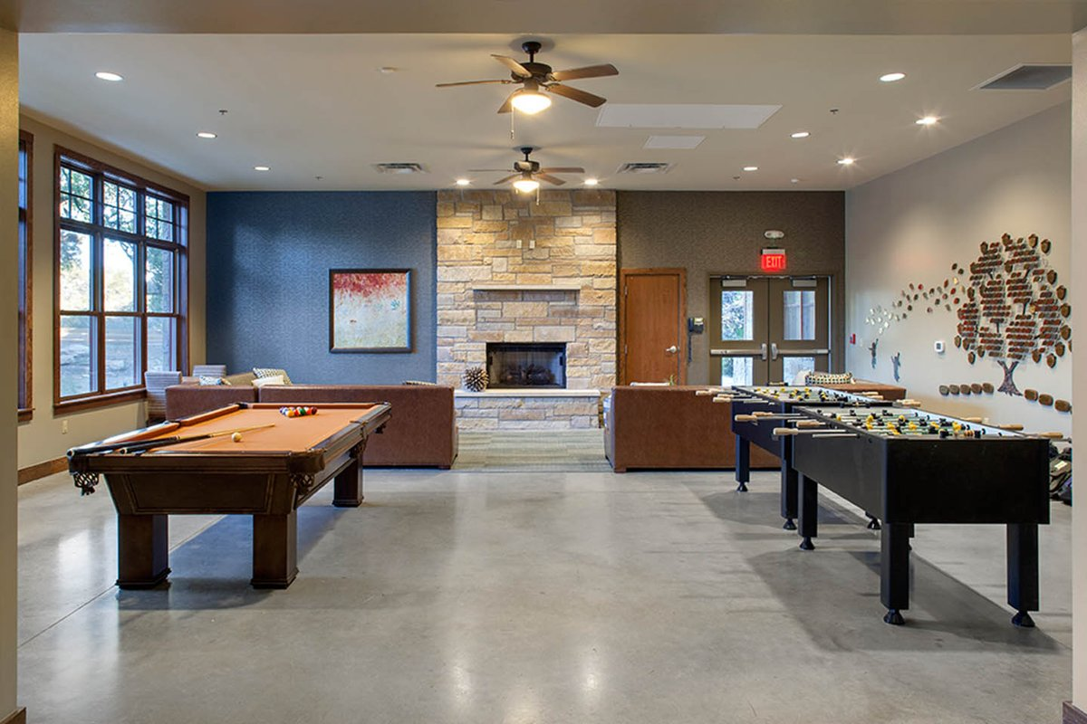 Storefront listing Large Event Space and Game Room in Barton Hills, Austin, United States.
