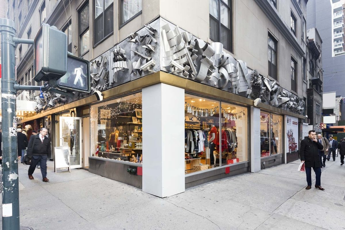Storefront listing Prime Pop-Up Shop in Busy Midtown in Midtown, New York, United States.