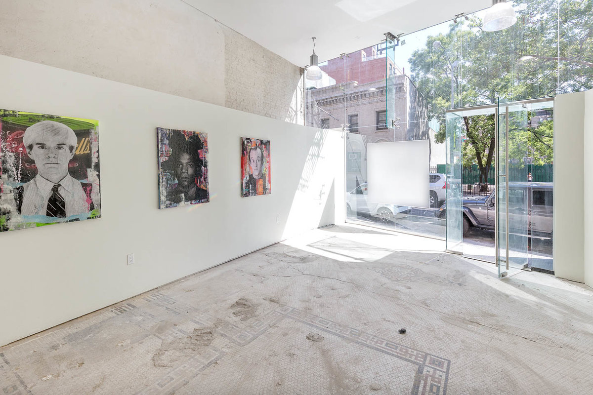 Storefront listing Prime Nolita Gallery Space in Nolita, New York, United States.