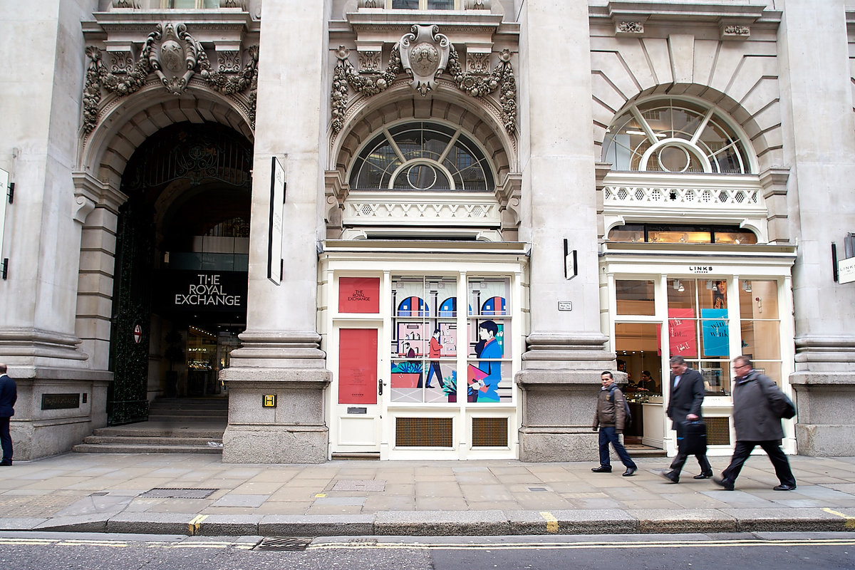 Storefront listing Historic City Pop Up Store in City of London, London, United Kingdom.