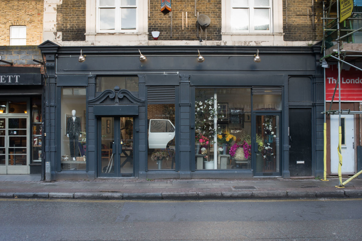 Storefront listing Curated Hackney Pop-Up Shop, London, United Kingdom.