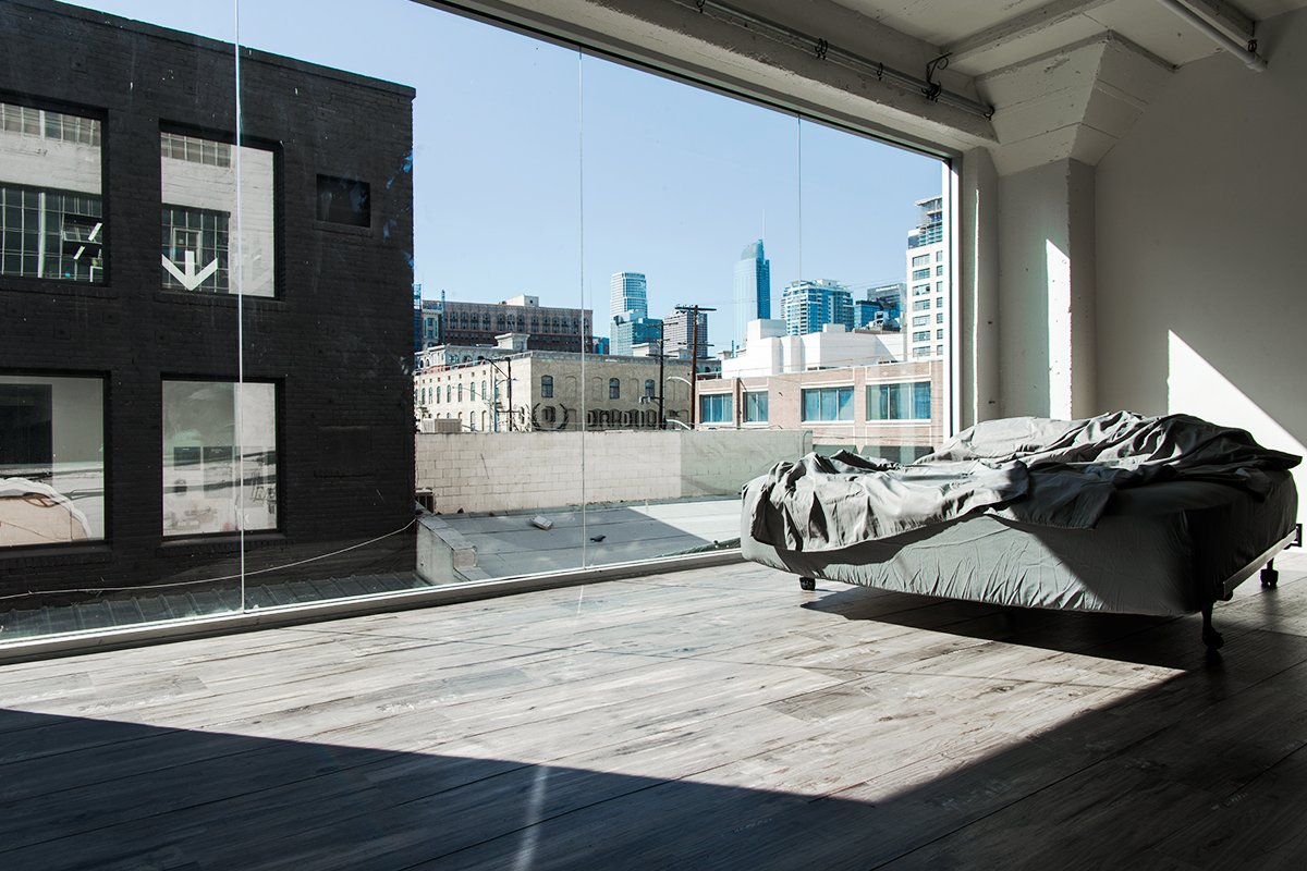 Storefront listing Downtown Loft with Urban View, Los Angeles, United States.