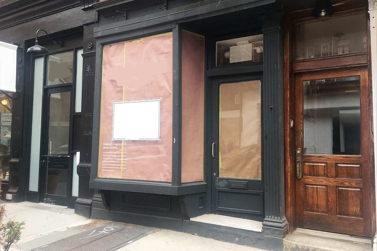 Storefront listing Pop-Up Space in Nolita in Nolita, New York, United States.