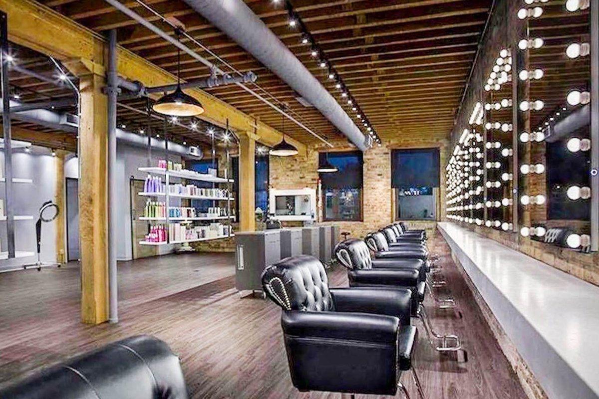 Storefront listing West Loop Loft Penthouse in Near West Side, Chicago, United States.