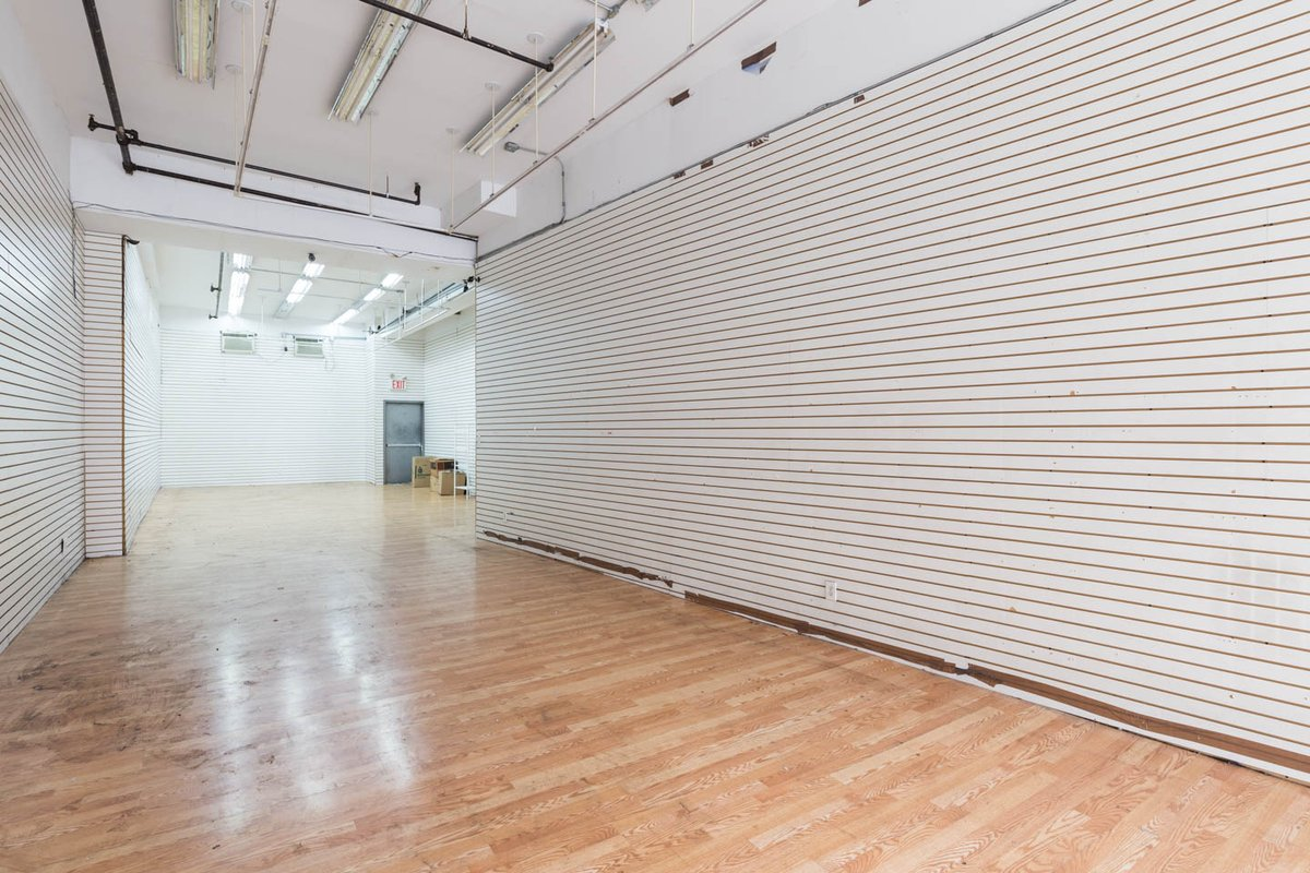 Storefront listing Spacious Double Entry Retail Store in Tribeca in SoHo, New York, United States.