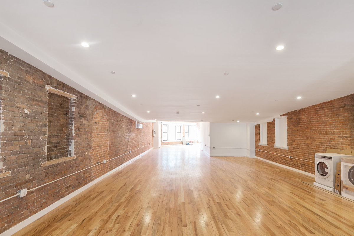 Storefront listing Bowery Loft and Terrace Space, New York, United States.