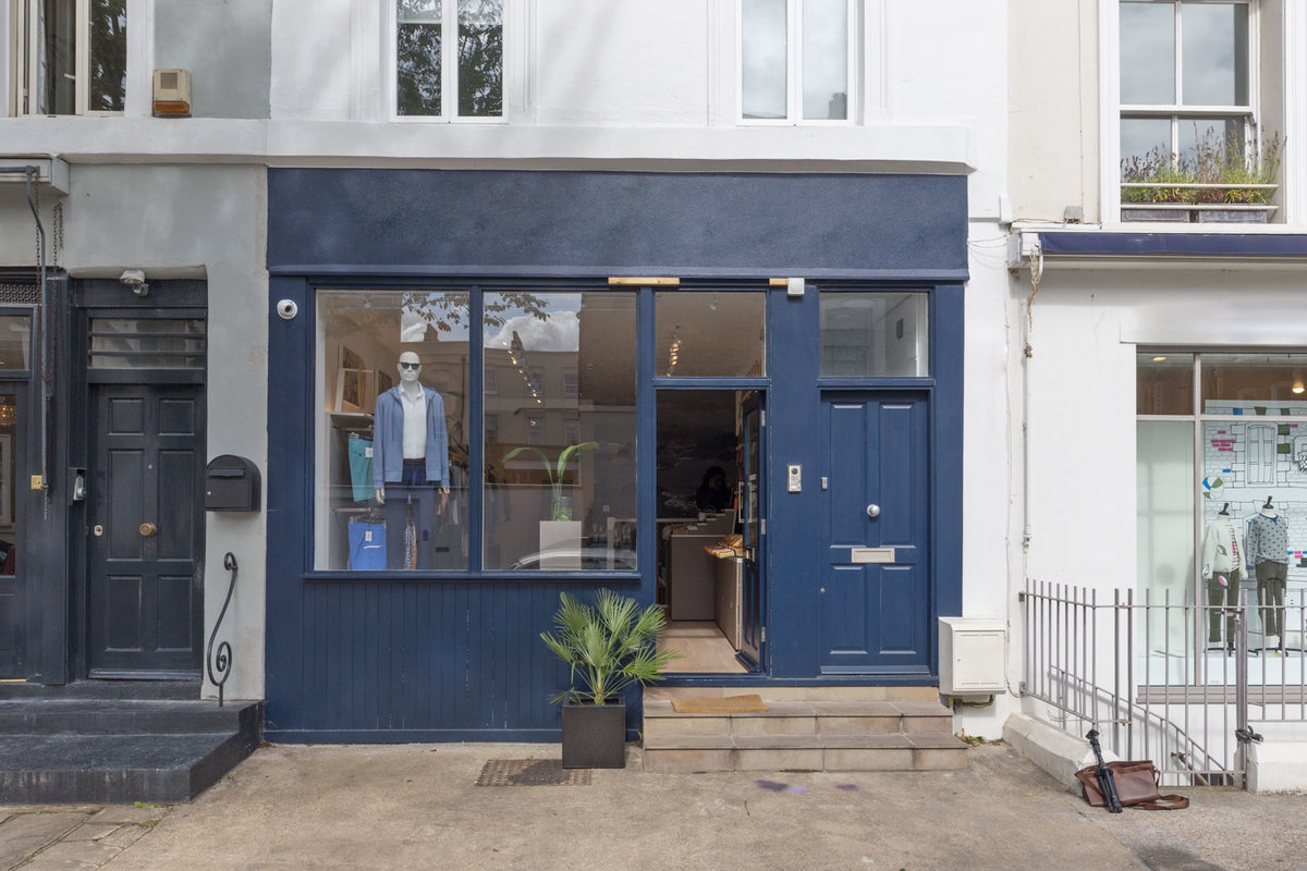 Storefront listing Retail Shop Share in Notting Hill in Notting Hill, London, United Kingdom.